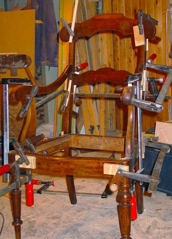 Møbler reparation
